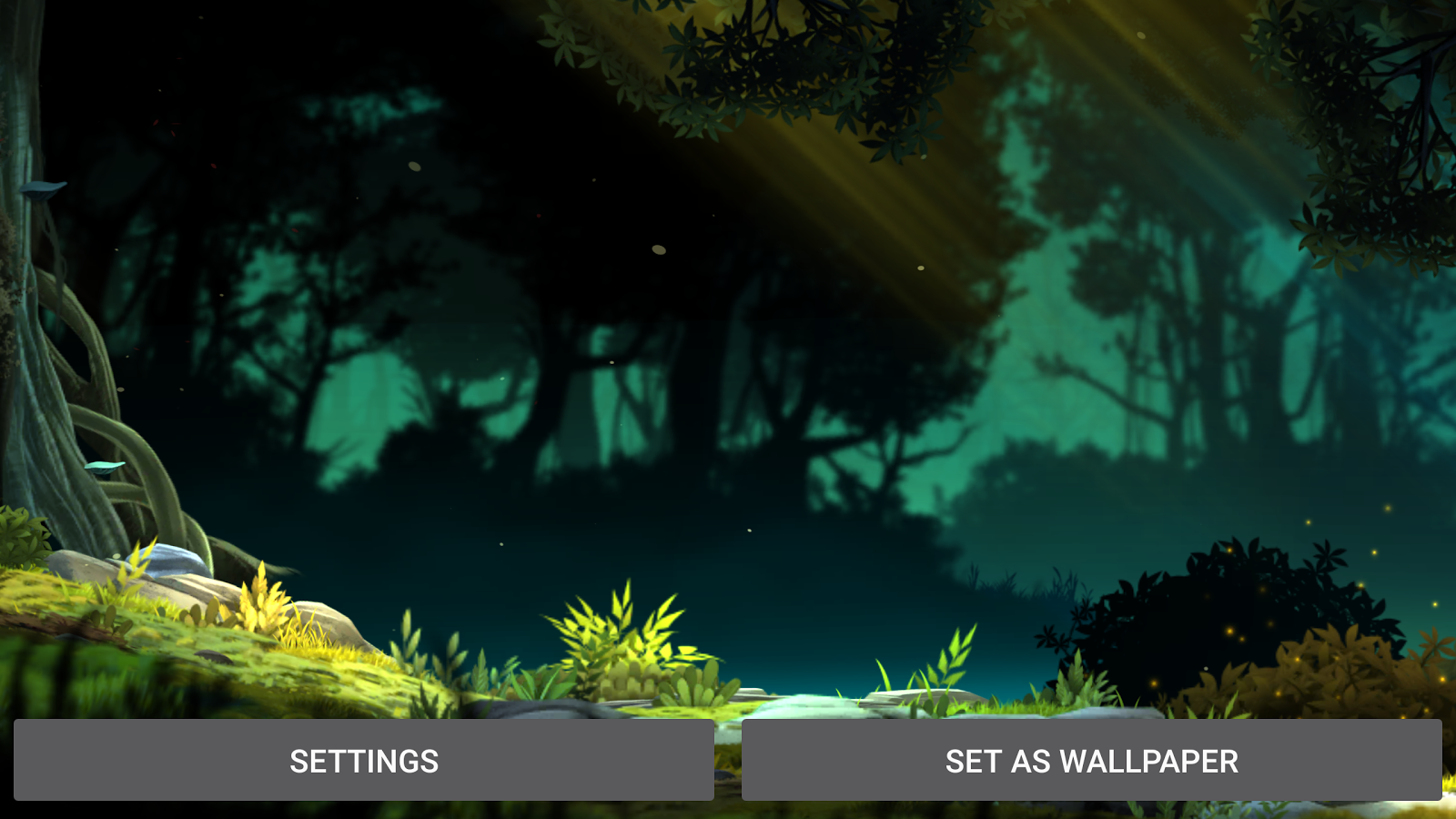 Fantasy Jungle Live Wallpaper Screenshot 10