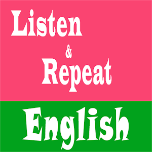 Listen And Repeat English Icon