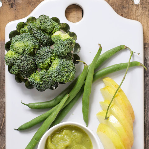 Apple + Green Beans + Broccoli Puree