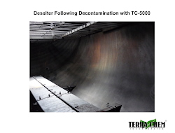 desalter following decontamination with tc-5000