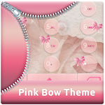 Pink Bow Theme for ExDialer 1.9.5 Apk