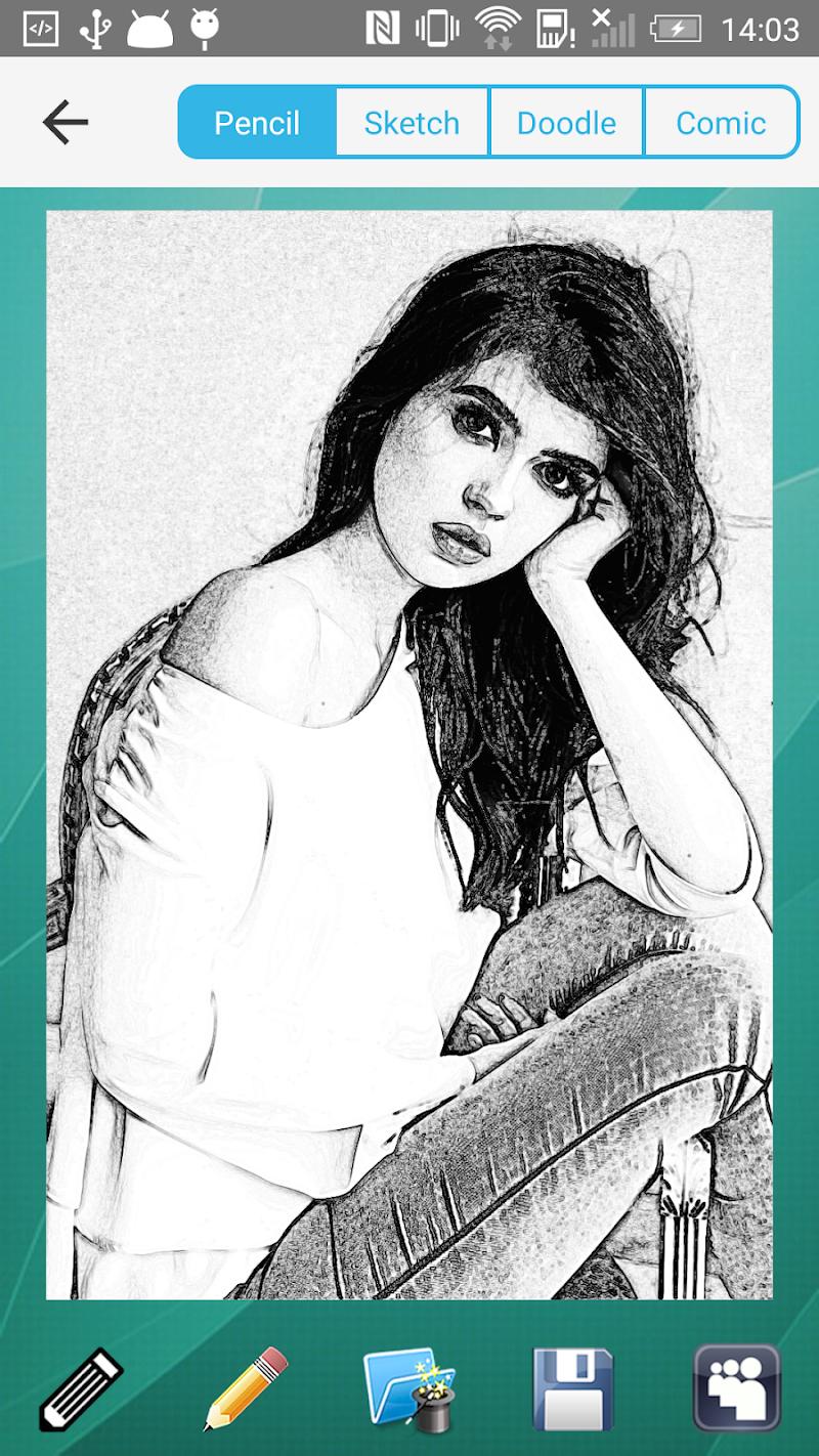 Pencil Sketch Ad-Free Screenshot 2