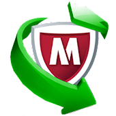 reeder McAfee APK for Bluestacks