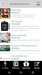 App PointsPrizes - Free Gift Cards apk for kindle fire