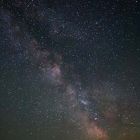 3:00 AM by Lilian Iatco - Landscapes Starscapes ( one, silence, night, long exposure, milky way )