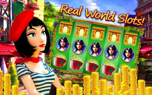 Night in Paris Slot Machines apk screenshot