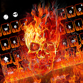 App Fire Skull Keyboard Theme APK for Kindle