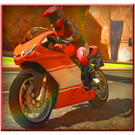 Highway Bike Racing 3d 2015 Icon