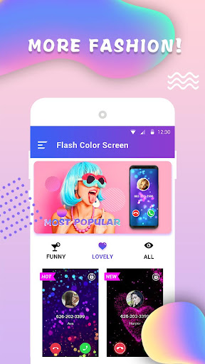 Flash Color Screen -- Free & Personalize & Fashion For PC