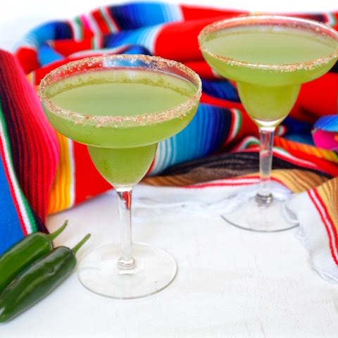 Spicy Cucumber Mint Margarita