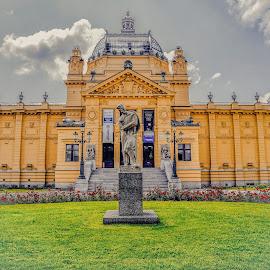 Umjetnički paviljon by Bero Planinec - Buildings & Architecture Statues & Monuments ( slike )