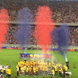 Steaua Bucharest Champions by Maria Ioana - Sports & Fitness Soccer/Association football ( steaua bucharest champions )