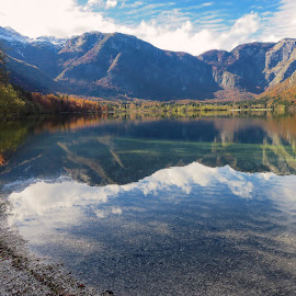 Lake Bohinj 4 by Igor Gruber - Landscapes Beaches