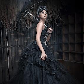 by Aji Patria - People Fashion ( studio, fashion, woman )