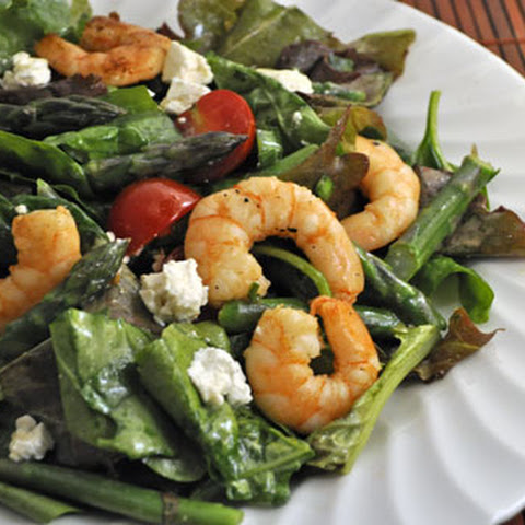 Spring Shrimp and Asparagus Salad