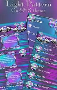How to get Light Pattern Go SMS Pro theme 1 mod apk for pc