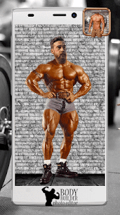 Bodybuilder Photo Editor - screenshot