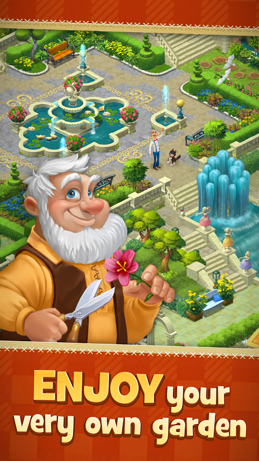 Gardenscapes - New Acres Screenshot 1