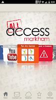 Screenshot of Access Markham