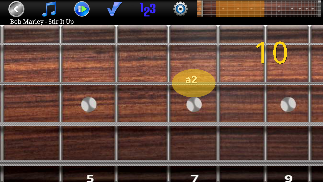 Bass Guitar Tutor Pro Screenshot 0