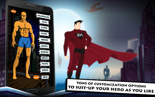 Superhero Maker HD - screenshot