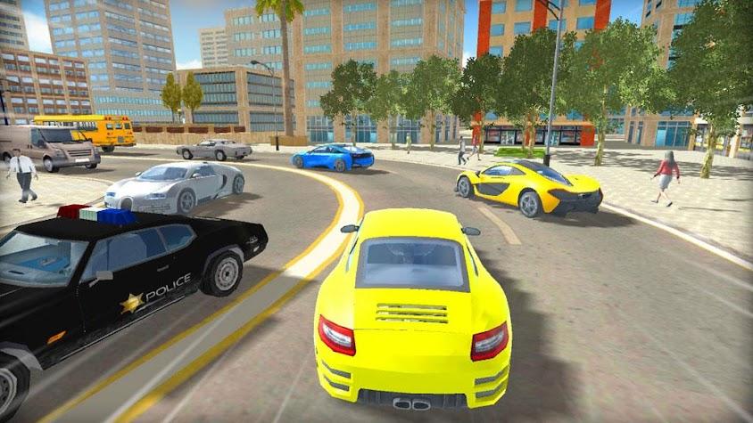 Real City Car Driver Screenshot