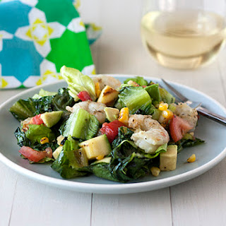 Grilled California Chopped Salad with Shrimp