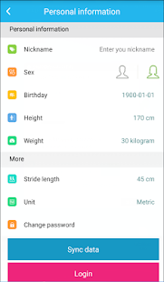 iFit Pro Fitness app screenshot for Android