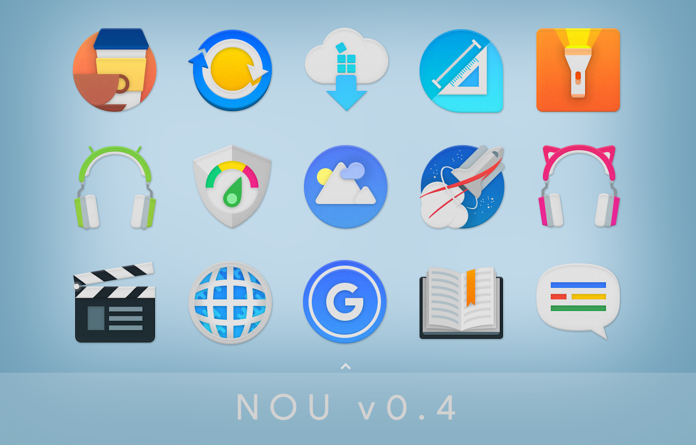 NOU - Icon Pack Screenshot 6