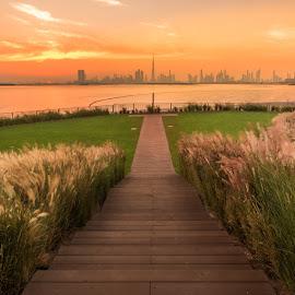 The Terrace Dubai by Shabbir Shani - City,  Street & Park  City Parks ( the terrace, city parks, mydubai, water front, shabbirshaniphotography, dubai photographers, dubai parks, burj khalifa, dubai skylines )