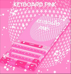 Pink Keyboard For Android - screenshot
