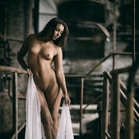 nude@factory by Reto Heiz - Nudes & Boudoir Artistic Nude ( lost place, model, nude, nudeart, female nude )
