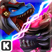 Dinowar: Mosa vs Dark T-Rex APK for Lenovo
