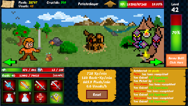 Idle Adventure (Unreleased) APK screenshot thumbnail 16