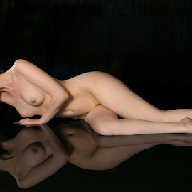 reflection in water by De Voldoening Henri - Nudes & Boudoir Artistic Nude