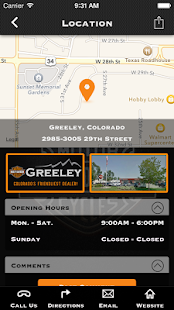 Greeley Harley-Davidson® - screenshot