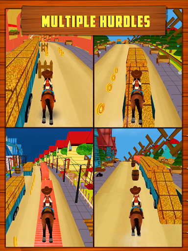 Farm Horse Frenzy Run - screenshot