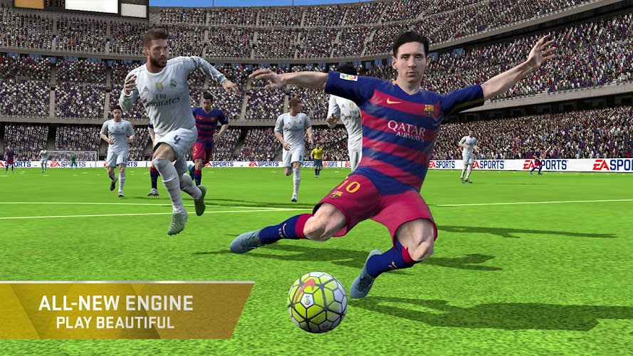 FIFA 16 Soccer Android App Screenshot