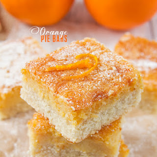 Orange Pie Bars