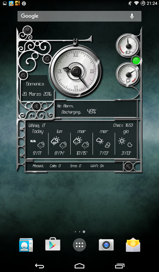 XtraOClock Steampunk Widget Screenshot 17