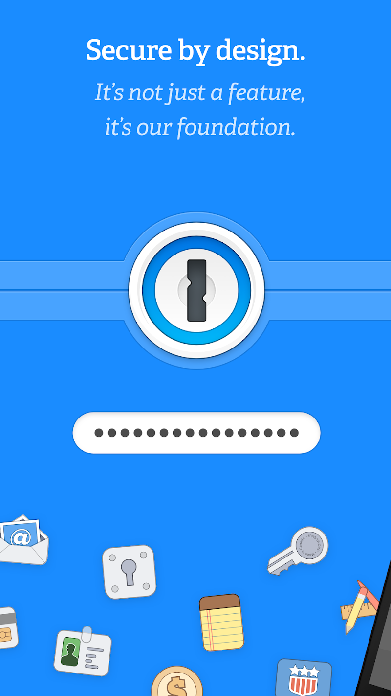 1Password - Password Manager and Secure Wallet Screenshot 1