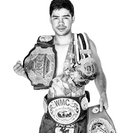 World Champ by Daniel Niclair - Sports & Fitness Boxing ( kick boxing, k1 figther, australia, muay thai, thailand, boxing, fighter, k1 )