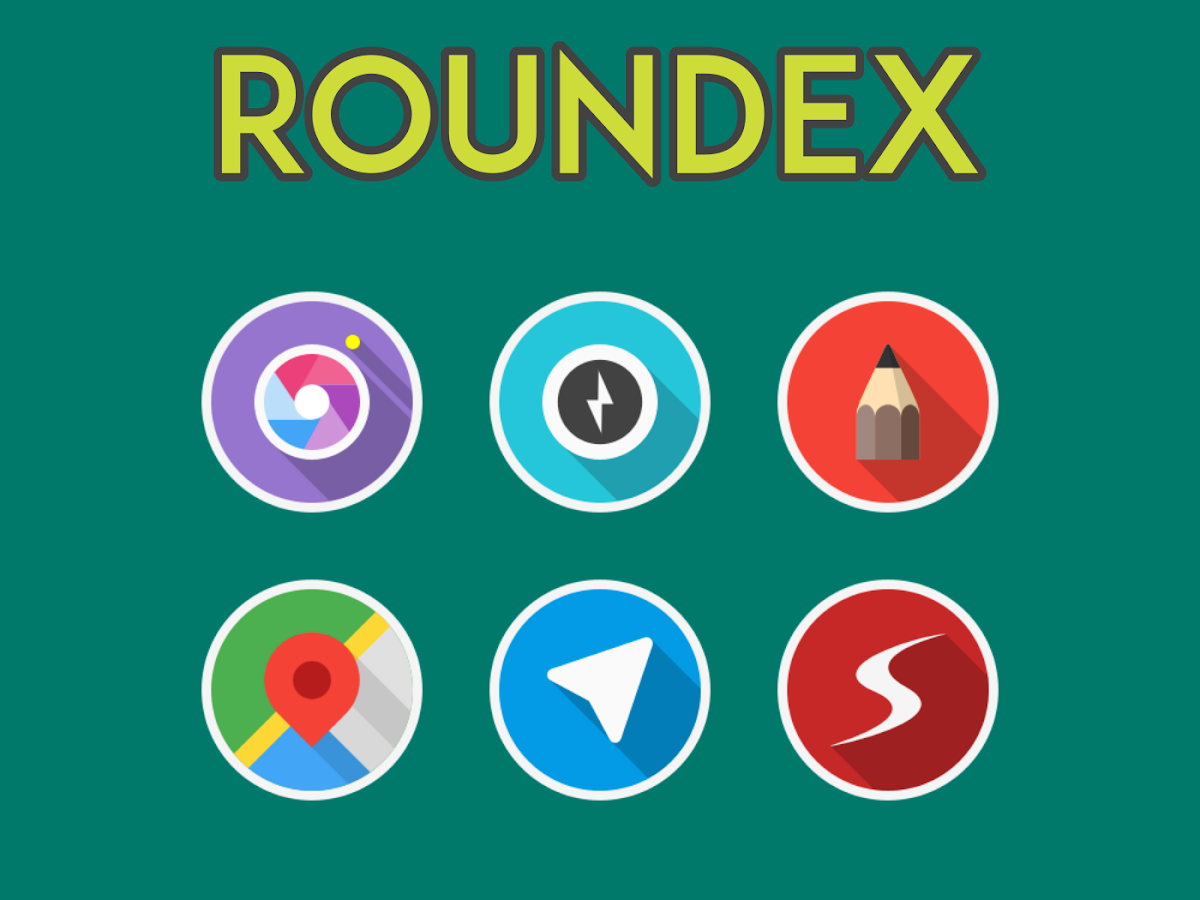 ROUNDEX - ICON PACK Screenshot 4