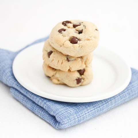Chocolate Chip Cookies with cornstarch