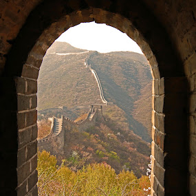 The Great Wall of China by Praveen Chand - Buildings & Architecture Public & Historical