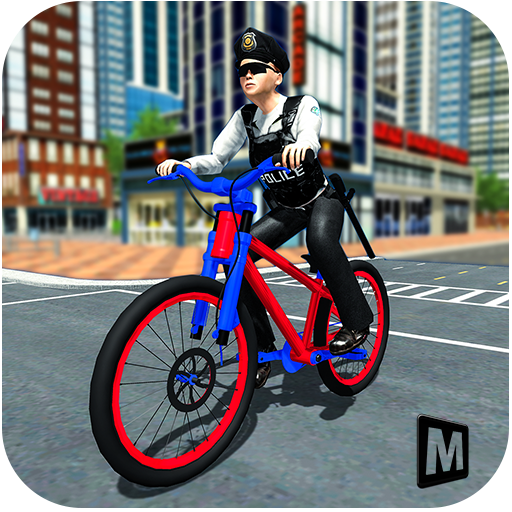 Police Chase - The Cop Bicycle Rider (game)