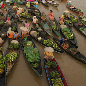 Lok baintan floating market the hidden of south borneo by Muhammad Fakhriannur - News & Events World Events