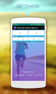 Pedometer Calorie Step Counter Fitness app screenshot 1 for Android
