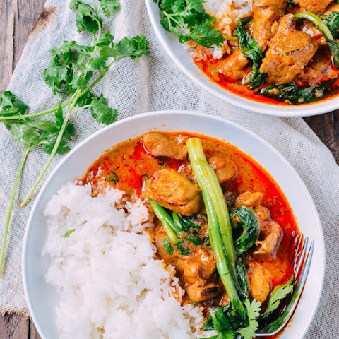 Comforting Chicken in Red Curry