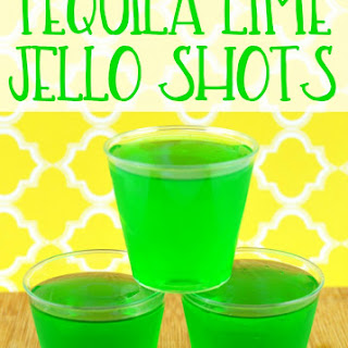 Tequila Lime Jello Shots